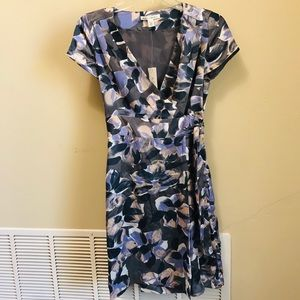 NWT! Banana Republic Silk Wrap Dress Size 00P